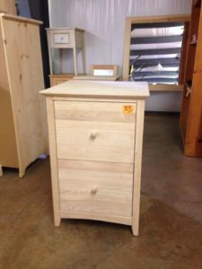 Parawood File Cabinet - Lam Brother's Unfinished Furniture