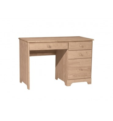 Jamestown 4 Drawer Desk Lam Brother S Unfinished Furniture