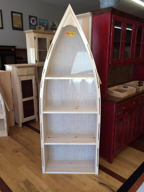 Boat Bookshelf Lam Brother S Unfinished Furniture