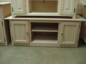 52 Oak Tv Stand Lam Brother S Unfinished Furniture
